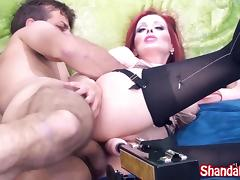 Shanda Fay Gets Fucked With Dick & Fuck Machine! porn tube video