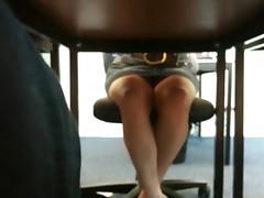All, Desk, Skirt, Upskirt, Canadian