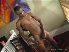 Tyreice Wells Beats Off porn tube video