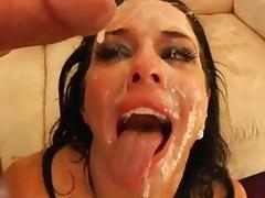 FACES OF CUM : Veronica Avluv tube porn video