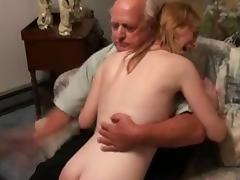 Spanking, BDSM, Old Man, Punishment, Spanking