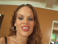 She wants both so she fucks a black guy and white guy at the same time porn tube video