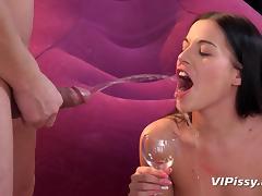 Drinking sex video tube