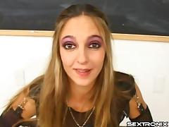 Guys teach her how to be a good deepthroat cocksucker porn tube video