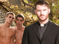 Sam Truitt & Brendan Patrick & Trent Ferris in Forgive Me Father 2 Video