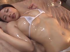 Massage, Adorable, Asian, Couple, Hardcore, HD