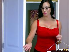 Busty secretary gets drilled by her boss on top of her desk porn tube video