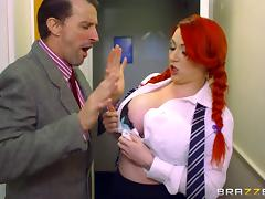 She violates the office dress code and gets fucked for punishment tube porn video