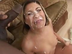 FACES OF CUM : Cindy Crawford porn tube video