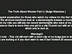 The truth about women. they loves to look at guys' crotches in public !!!