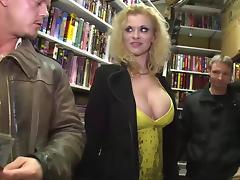 MAGMA FILM German Pornstars in a videoclub