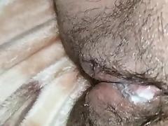 Hot pregnant Lebanese fucking & cum eating