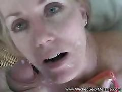 Wicked Cumslut Doggy Style Facial