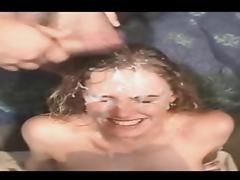 Cum on her face - Shannon