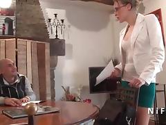French teacher milf hard sodomized by her student porn tube video