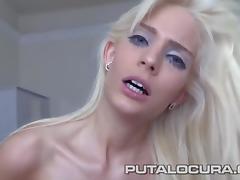 PUTA LOCURA Sweet Hunagrian Barbie swallows it all porn tube video