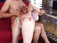 Anal fucked hussy likes it deep tube porn video