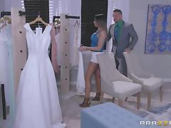 A beautiful gal in her wedding dress being drilled buttffuck tube porn video