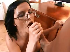 beautiful blackhaired facial 12 porn tube video