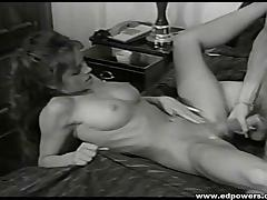 Beautiful woman with natural tits likes being fucked missionary style