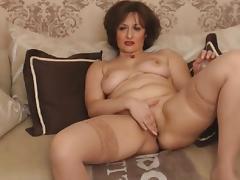 mature mon fingering naked porn tube video