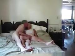 Granny gets her pussy eaten out and blows grandpa's cock