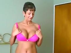 Dirty talking milf fucks her husband and gets a creampie porn tube video