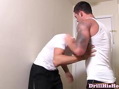Gay jock assfucks his exbfs new young lover