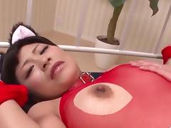 Mind blowing porn scenes with hot Aika Hoshino