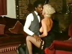 Boots, Blonde, Boots, Heels, Huge, Interracial