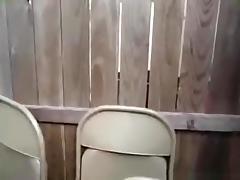 Emo girl sucks her bf's cock in the garden pov