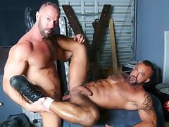 Vic Rocco & Jon Galt in Passionate Couple Video