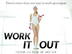 Ella Milano & James Deen in Work It Out Video porn tube video