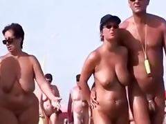 Beach, Beach, Blonde, Blowjob, Couple, Horny