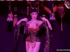 Dita Von Teese - Topless Striptease