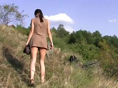 flexible brunette Alexa - Nature porn tube video