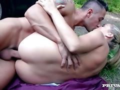 Christen Courtney Outdoor Anal Penetrated