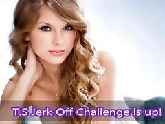 T.S. Jerk Off Challenge