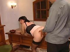Vintage French Mature tube porn video