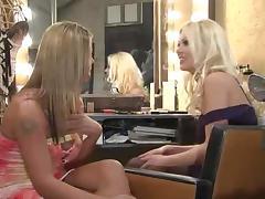 Impudent Tranny And Harlot Jazzing porn tube video