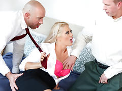 Holly Heart, Will Powers, Mark Wood in DP My Wife With Me #06,  Scene #02 tube porn video