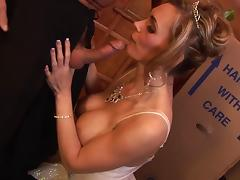Tanya Tate celebrate having the mammoth cock traverse her walls tube porn video