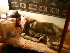 Russian guy sneakily tapes himself having sex with his gf