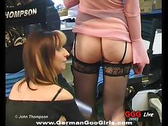 Backstage, Backstage, Banging, Blowjob, Gangbang, German