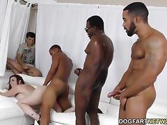 All, Angry, Banging, Brunette, Fucking, Gangbang