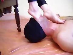 Foot Gag porn tube video