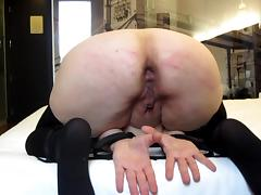 Session 23: ten hard strokes on ass