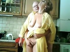 Old Man, Couple, Fingering, Grandpa, Granny, Handjob