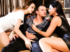 Chanel Preston & India Summer & Mr. Pete inThe Swinger #04, Scene #04 tube porn video