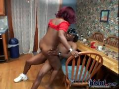 Dee is a black exotic beauty tube porn video